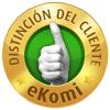 Galardonado con el sello de oro eKomi!